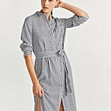 MNG Striped Shirt Dress ($49.95, originally $99.95)