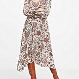 Petite Peasant Midi Dress