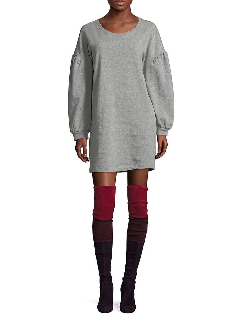 Highline Collective Balloon Sleeve Sweater Dress