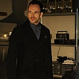 Elementary What happens:  Sherlock overdoses on heroin to foil — and learn the identity of — Moriarty. Sherlock doesn't actually overdose but instead uses it to get a confession from Moriarty.  Most shocking moment: Moriarty turns out to be Irene, Sherlock's presumed-dead lover from years before.