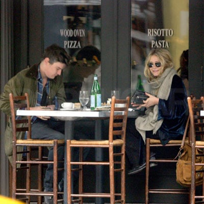 Mary-Kate Olsen and Nate Lowman Out in NYC