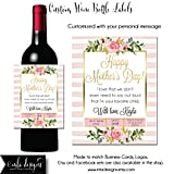 Custom Mother's Day Wine Label