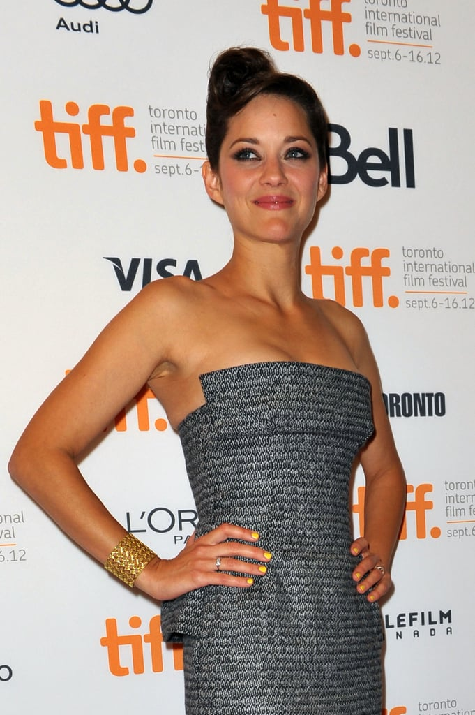 Marion Cotillard Rust and Bone Premiere at TIFF
