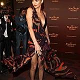 Kendall Jenner Spun Around in Her Versace Wrap Dress