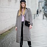Stand Out in a Checkered Coat and Newsboy Cap