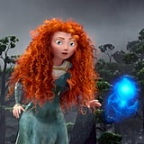 If Merida straightened her curls, her hair would be 4 feet long.