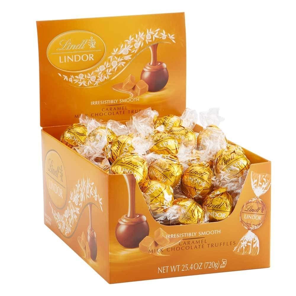 Lindt Lindor Caramel Milk Chocolate Truffle Box