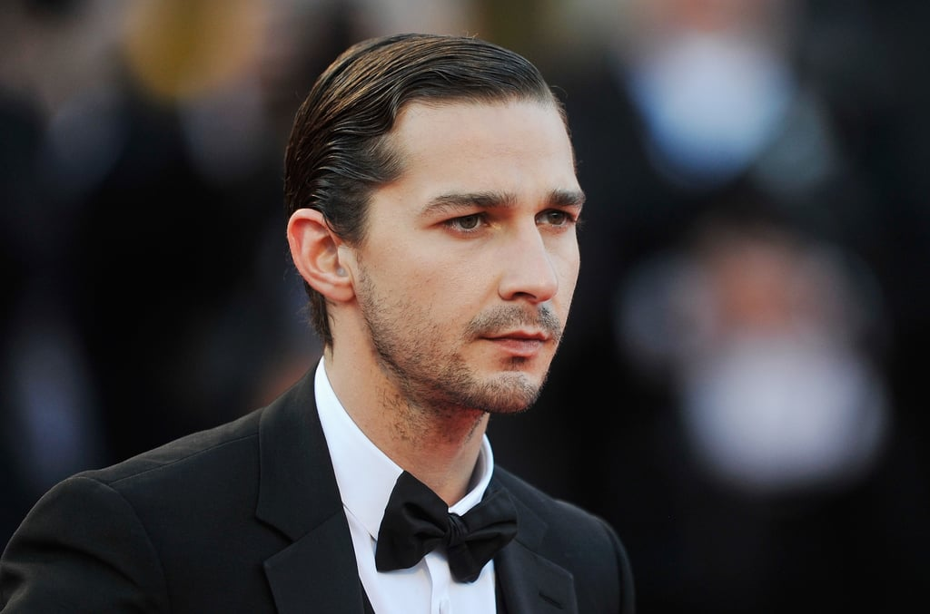 He gave off a steely gaze while hitting the red carpet at the Venice Film Festival premiere of The Company You Keep in September 2012.