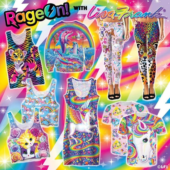 Lisa Frank Releases Clothing