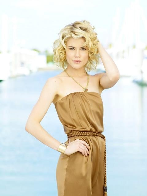 Rachael Taylor as Abby Sampson in ABC's Charlie's Angels.