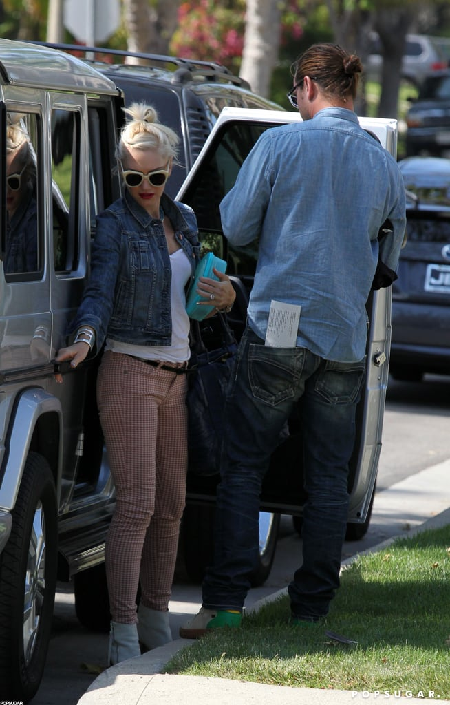 Gwen Stefani was with her family on Mother's Day.