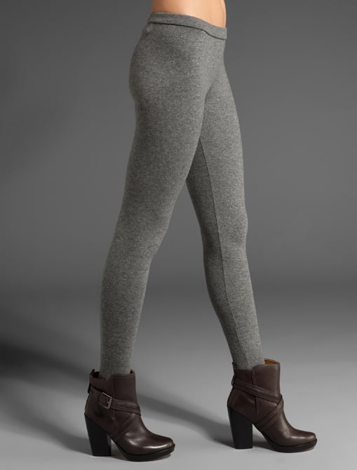Speaking of leggings, these Clu Heavy Knit Leggings ($341) will keep me warm and cool all Fall.
