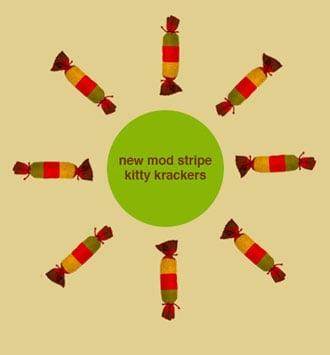 New Product Alert! George Mod Stripe Kitty Krackers