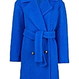 MSGM Belted Double-Breasted Bouclé Coat