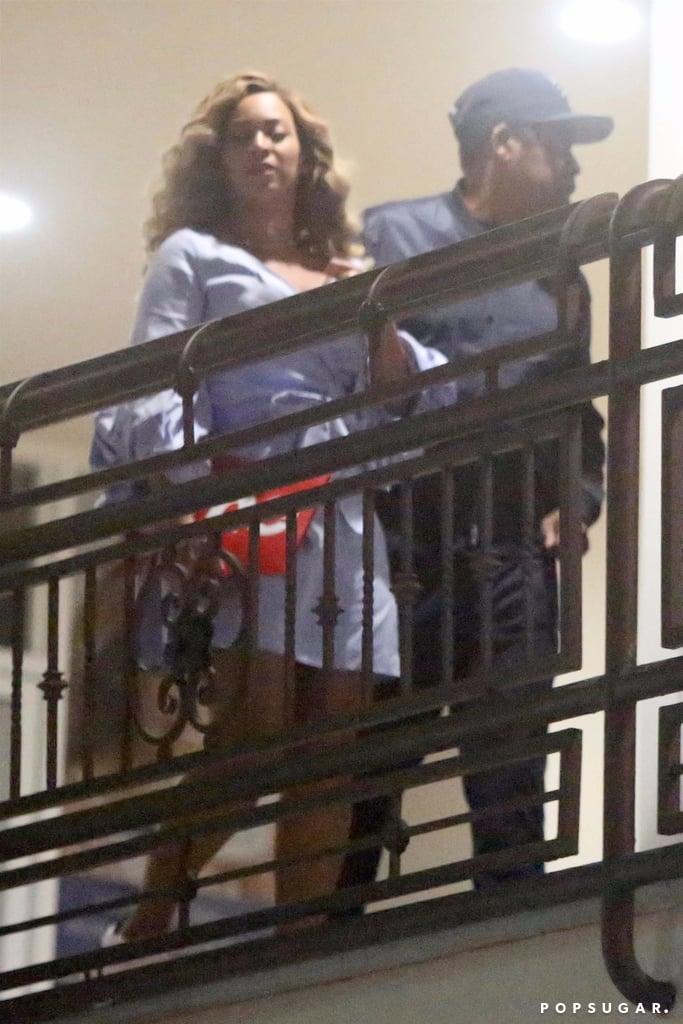 80c2da6b96 Beyonce Wearing Alexis Dress