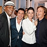 Stella McCartney got support from her dad Paul McCartney and sister Mary McCartney at her event on Sunday. They were joined by Samuel L. Jackson and André Balazs.