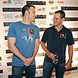 Ben Affleck and Matt Damon stepped out to support a good cause at the July 2009 Ante Up For Africa Poker Tournament in Las Vegas.