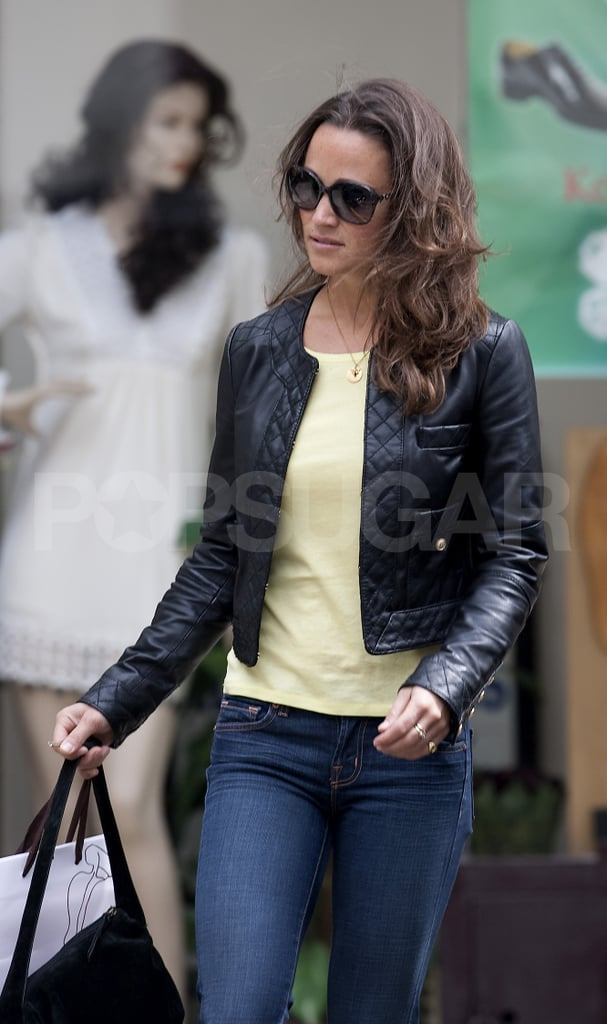 Pippa Middleton Goes For Casual Friday in Jeans
