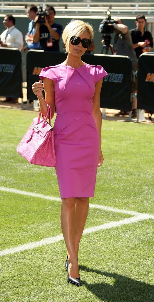 Victoria Popularized This Roland Mouret Dress