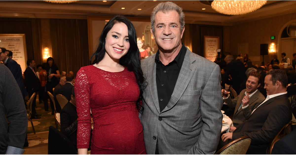 mel gibson welcomes son january 2017 popsugar celebrity