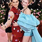 Lili Reinhart and Cole Sprouse at the Met Gala