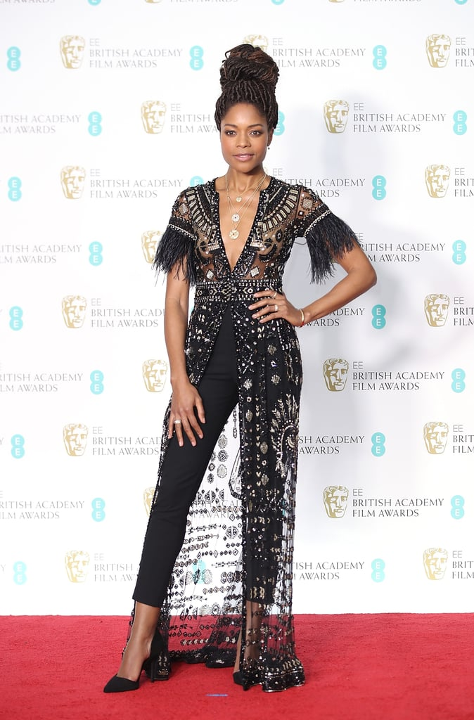 Naomie Harris Wearing Zuhair Murad at the 2018 BAFTA Awards