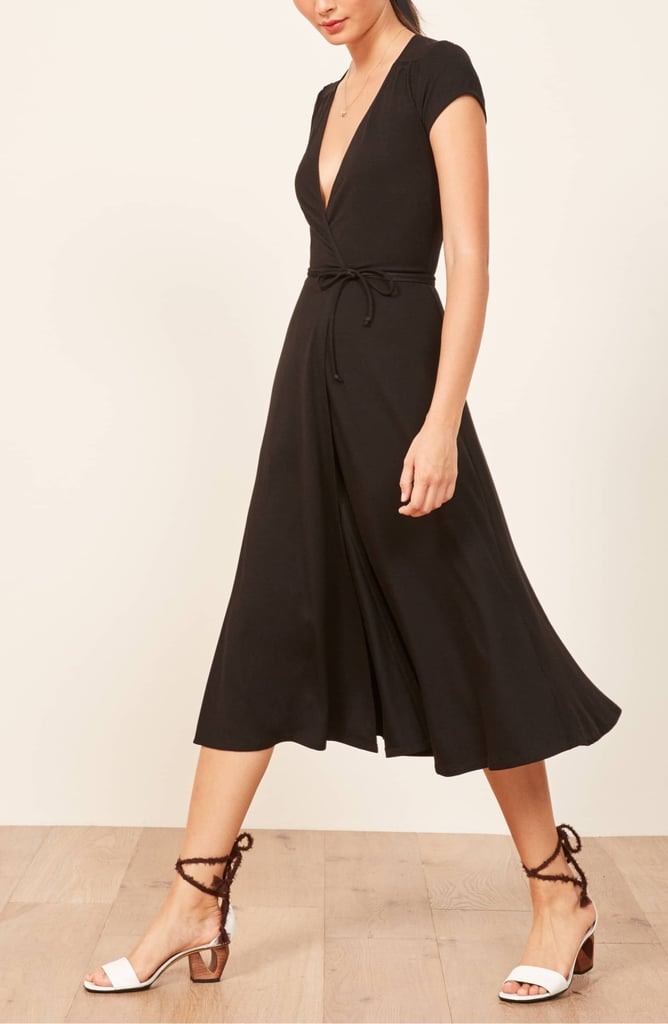 Flattering Black Dress