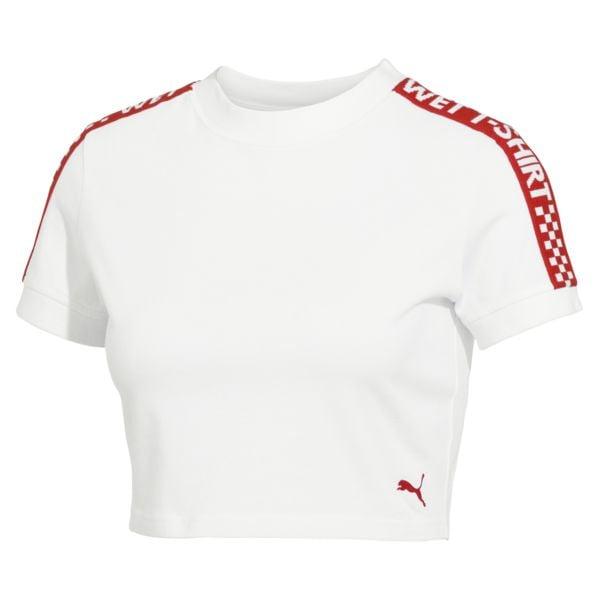 FENTY Short Sleeve Cropped T-shirt