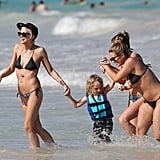 Ashlee Simpson and CaCee Cobb Vacation in Bikinis | Pictures