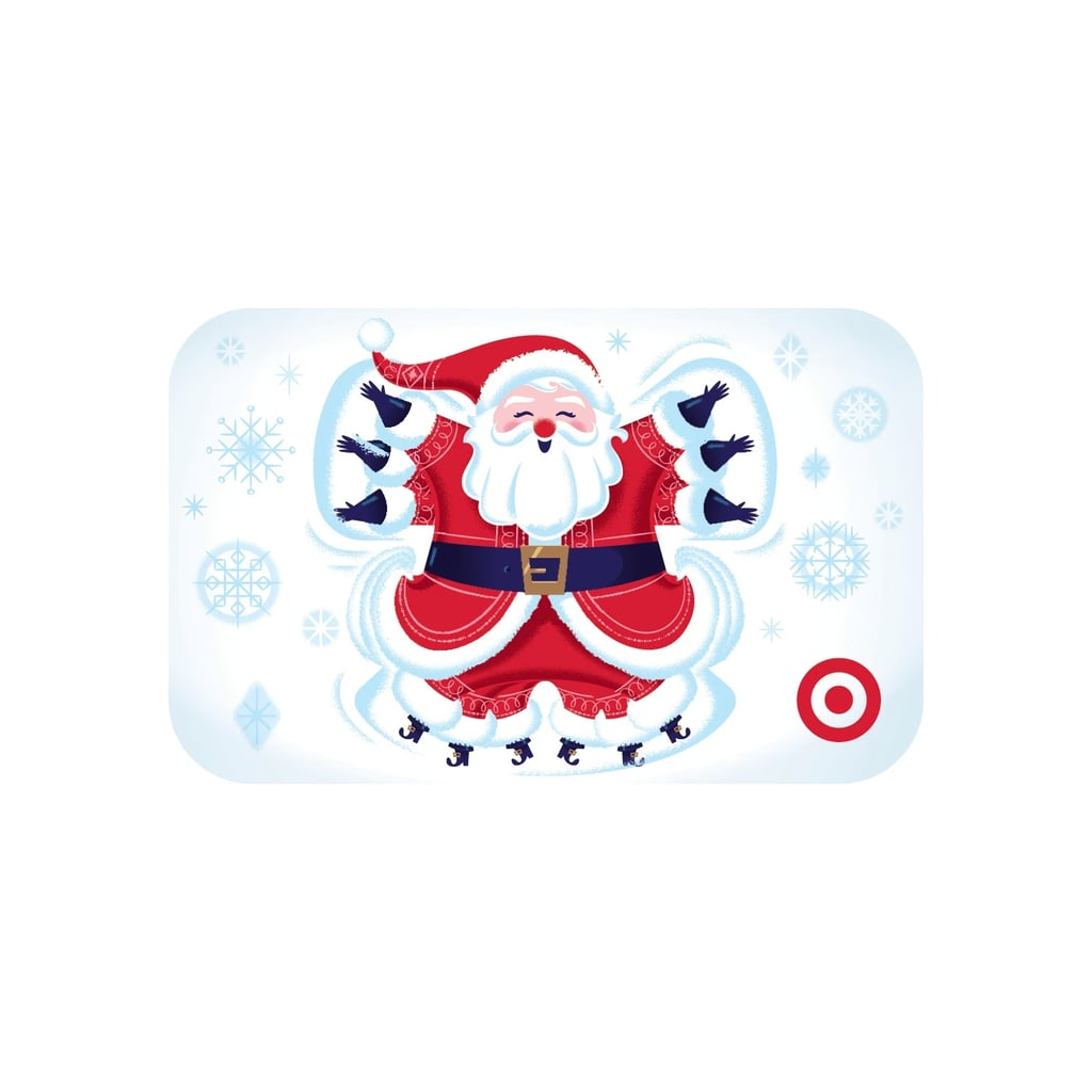 Santa Snow Angel Gift Card   Target Offering Discount on Gift Cards ...