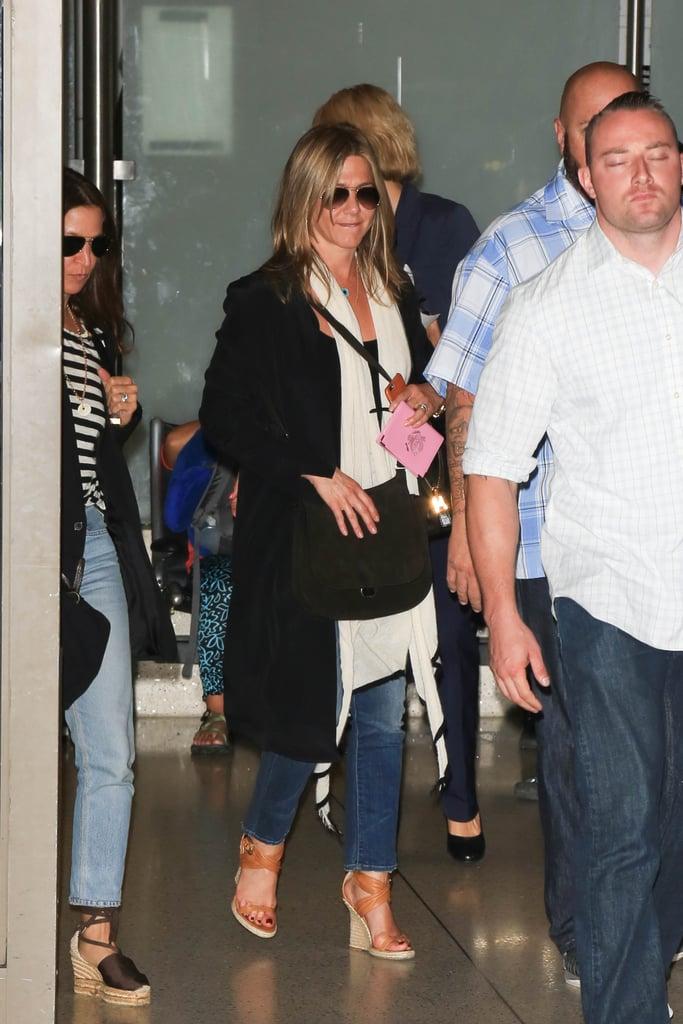 Jennifer Aniston Travel Style July 2016