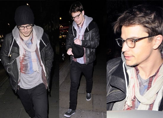 20/10/08 Josh Hartnett In London