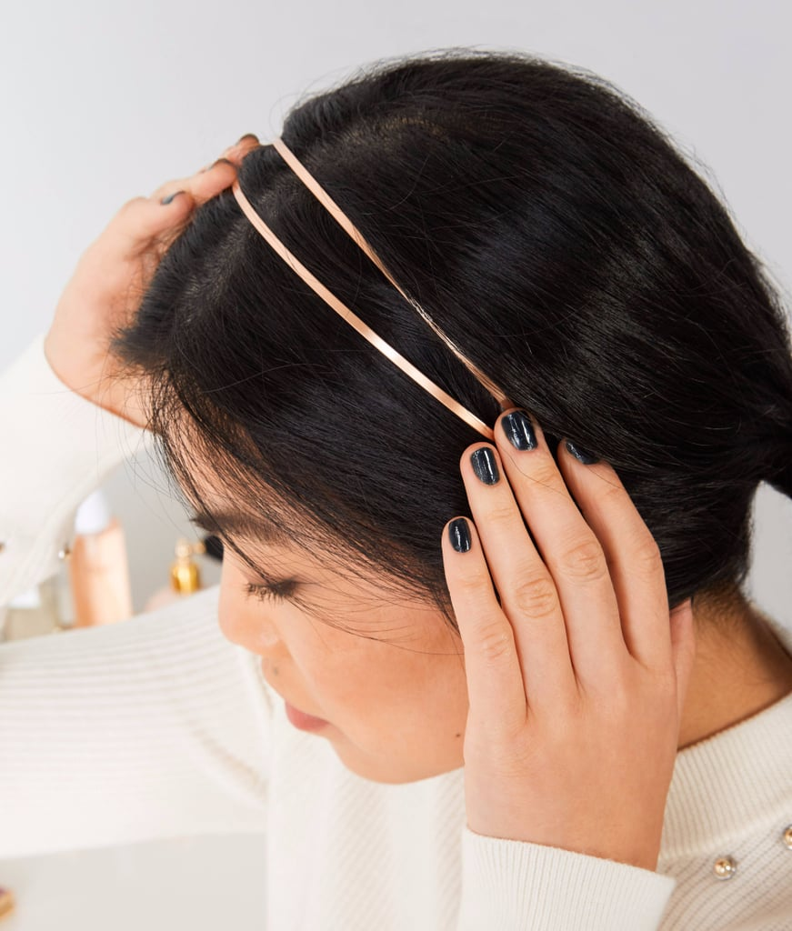 How to Wear Metallic Hair Accessories