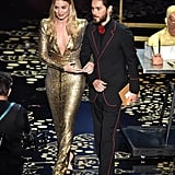 Pictured: Jared Leto, Margot Robbie, and Oscars