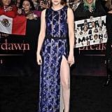 Kristen Stewart's Breaking Dawn Press Tour Style
