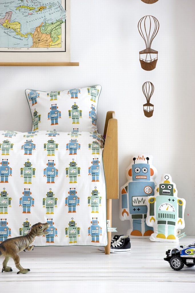 Ferm Living Robots Bedding ($75)
