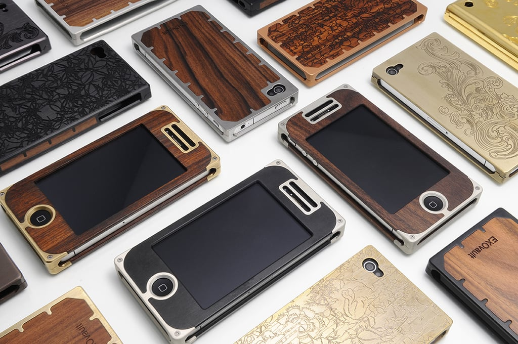 """EXOvault IPhone Case ($79-$400) """"The ultimate tech accessory."""""""