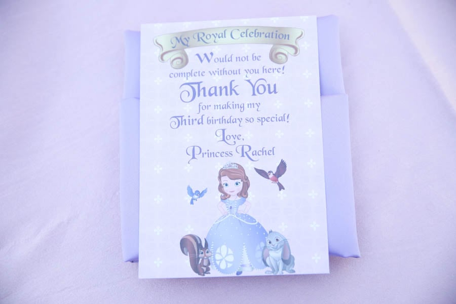 Thank You Place Card
