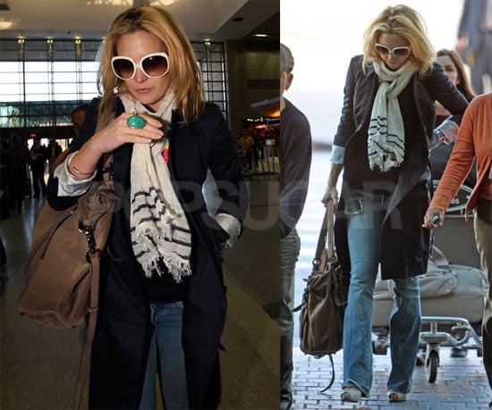 Kate Hudson Leaves LAX
