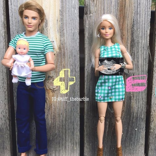 Barbie as Millennial Mum Instagram Feed
