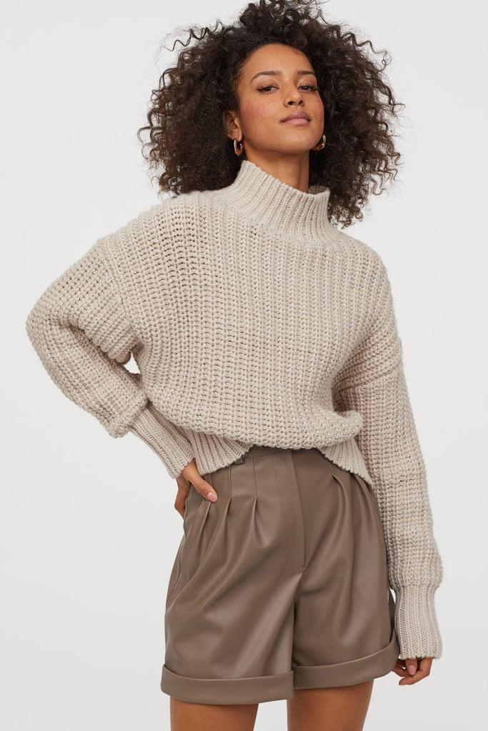H&M Chunky-knit Sweater