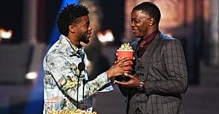 Chadwick Boseman Gives His