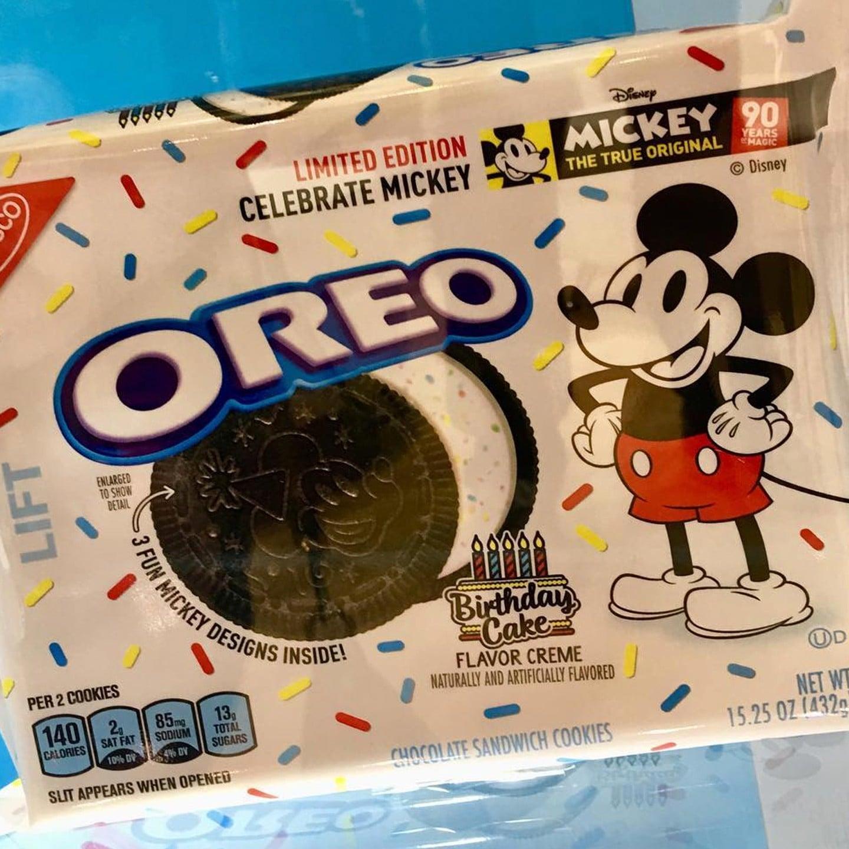 Mickey Mouse Birthday Cake Oreos Popsugar Uk Food