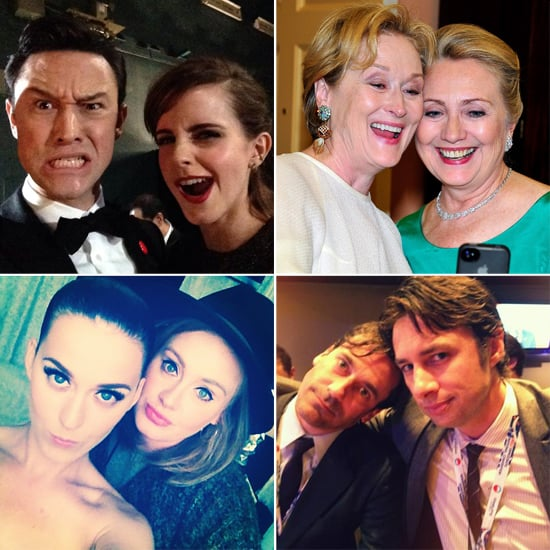 Funny and Random Celebrity Selfies Pictures