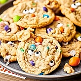 Halloween Monster Eye Walnut Cookies