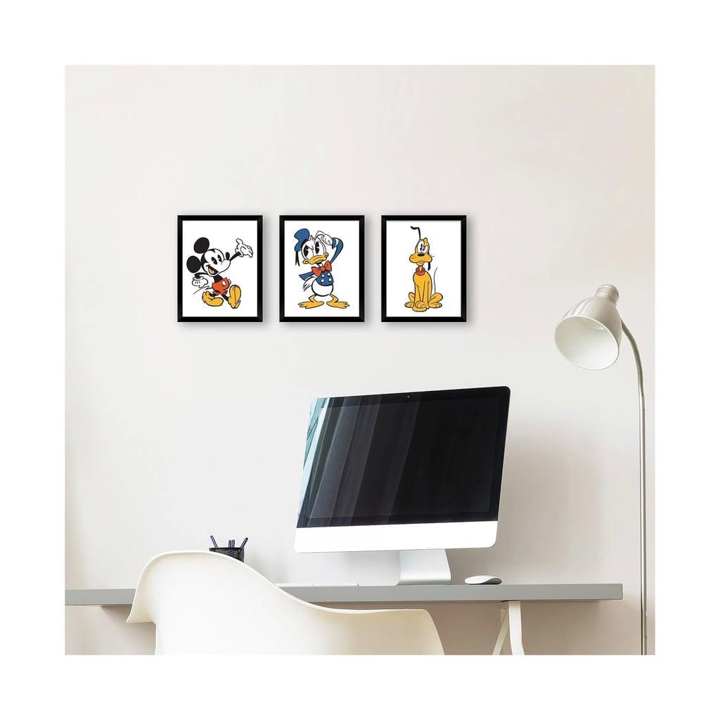 Disney Mickey Mouse & Friends Wall Art Set