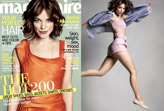 Rachel McAdams on Marie Claire May 2009 Cover