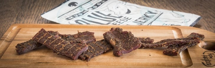 Uncle Andy's Boise's Mushroom Blue Cheese Beef Jerky