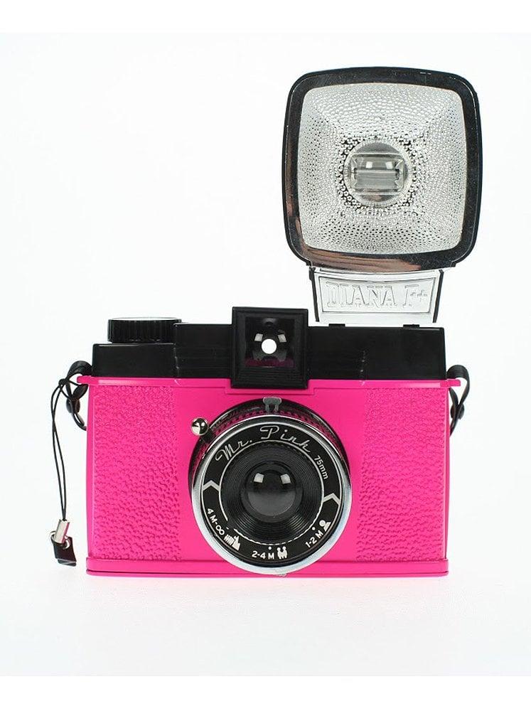 Lomography Diana F+ Mr. Pink Package, Pink ($80)