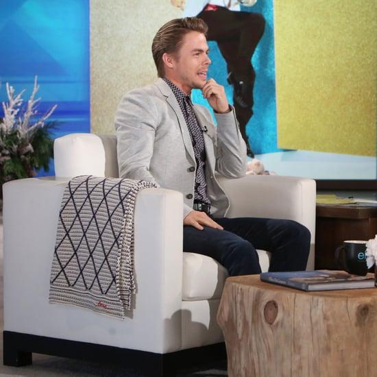 Derek Hough on The Ellen DeGeneres Show November 2016